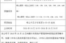 峰山国际·珑山段预售许可前公示
