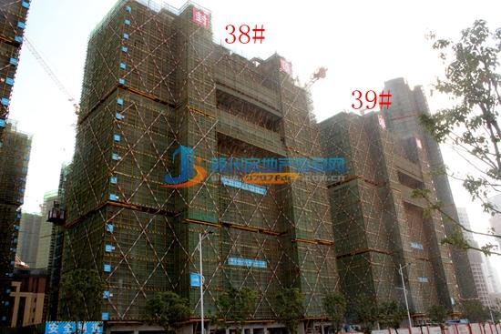 中海国际社区11月工程播报 130-160㎡墅院洋房即将推售