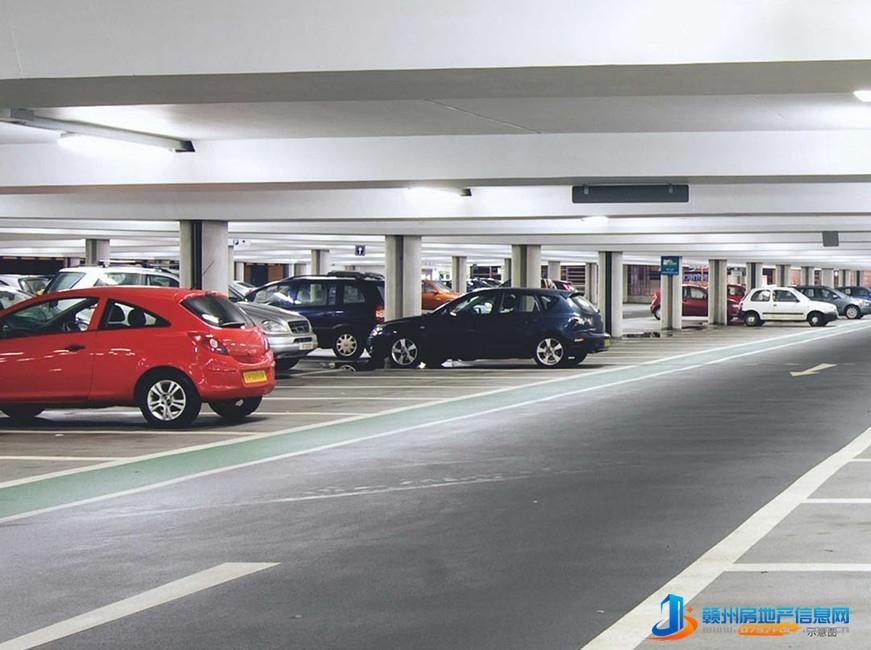 地下停车场示意图