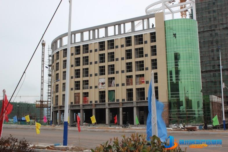 滨江新城实景图
