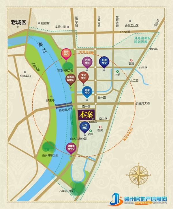 天玺湾区位图