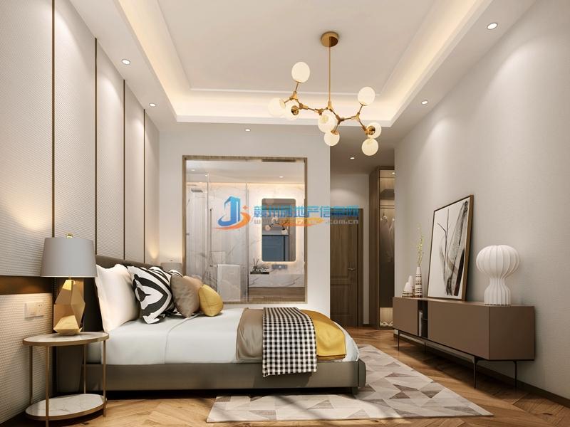 93㎡户型简约现代--卧室